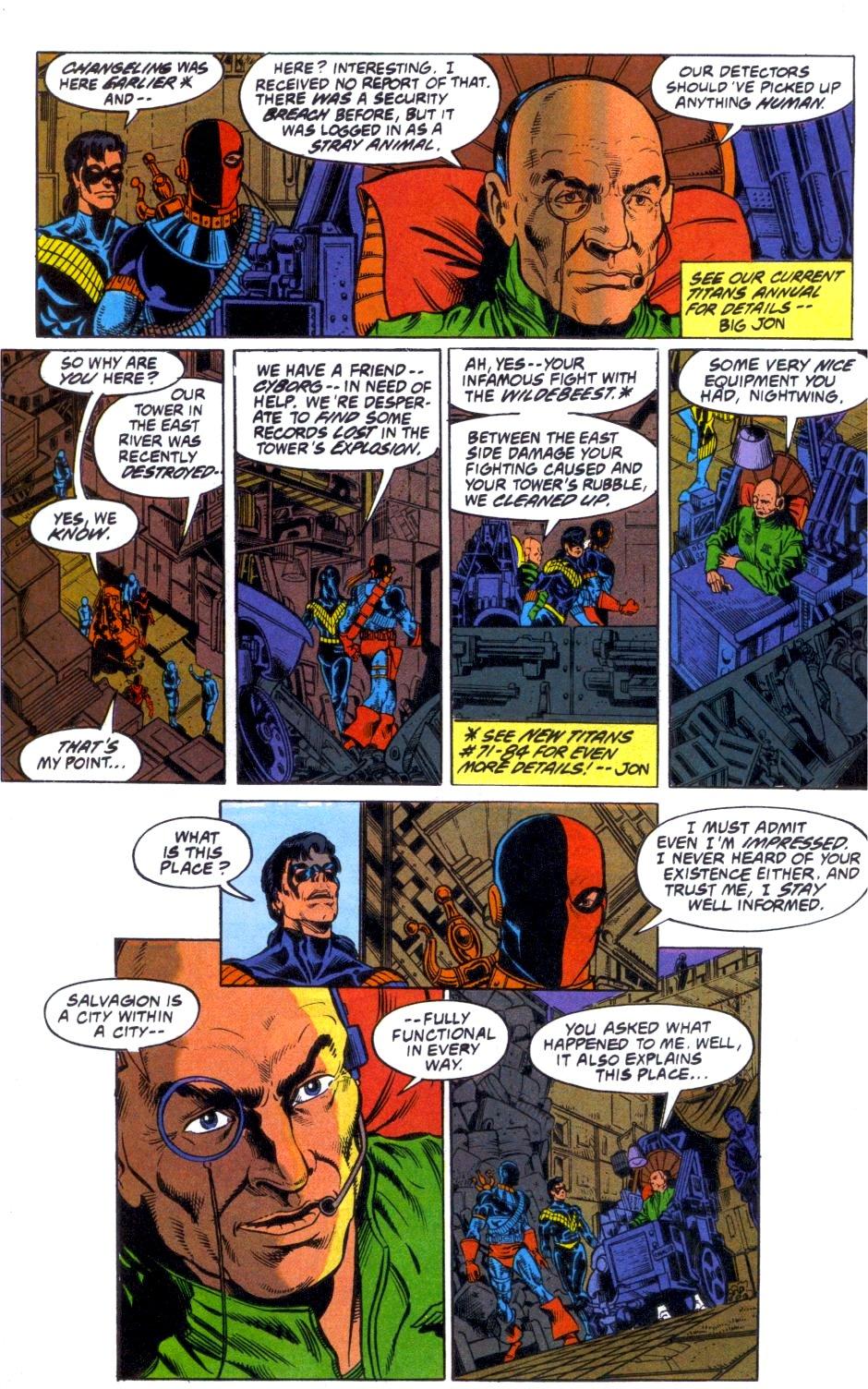 Deathstroke (1991) Annual 1 #1 - English 41