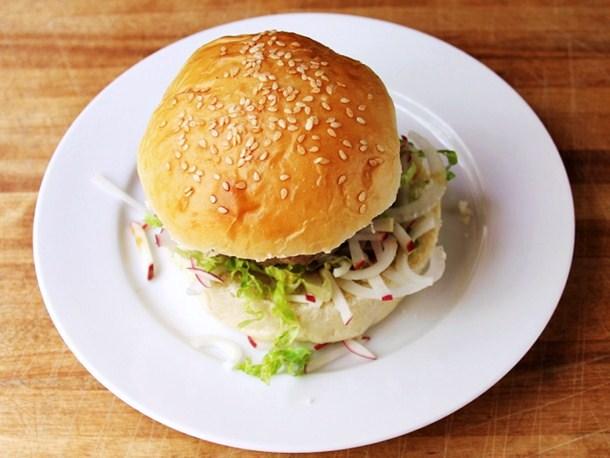 Cookistry: Sesame Burger Buns