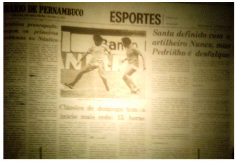 MEMÓRIAS ESMERALDINAS: América 2x1 Esporte Caruaru em julho de 1977