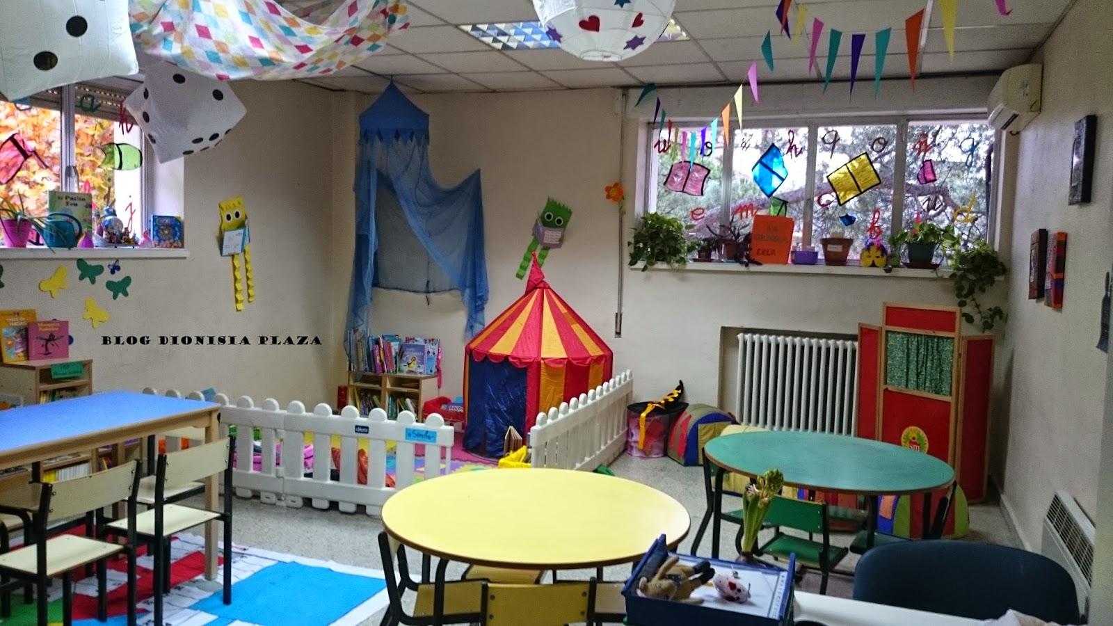 Biblioteca escolar inauguramos for Decoracion de espacios de preescolar