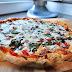 A wet pizza