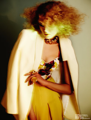 blurry fashion photography, yellow lips, jamie nelson photographer, fashion photographer