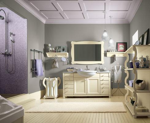 Idee per i mobili del bagno: bagno inglese con la soluzione di ...
