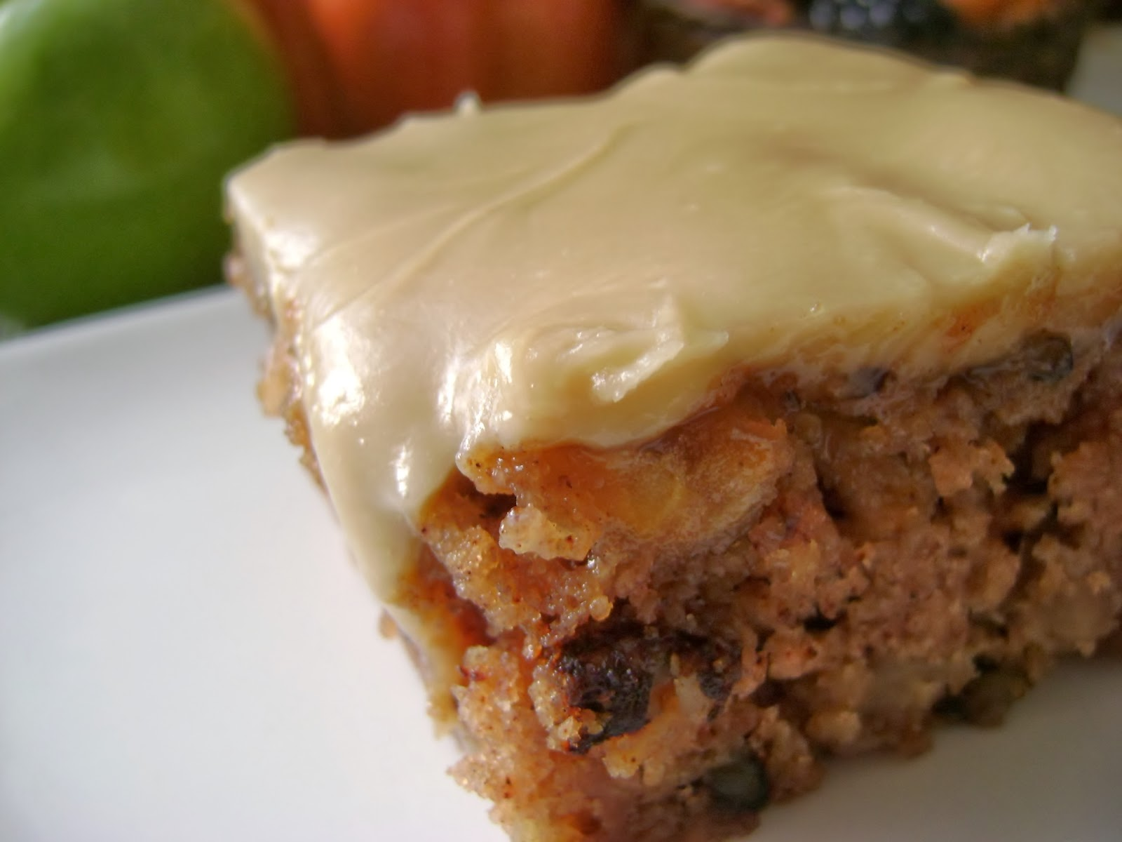 A Sunflower Life Apple Cake With Brown Sugar Frosting