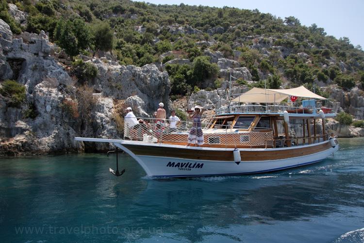 Турецкий яхты выходят в море
