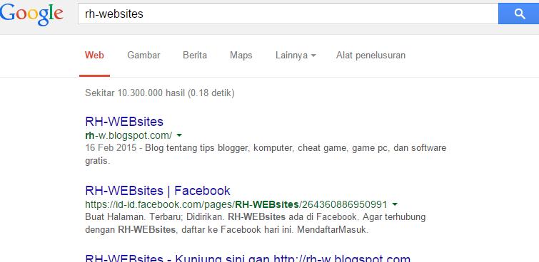 Penyebab Blog Tidak Masuk Search Engine