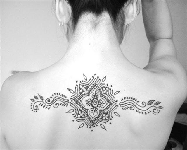 Back Body henna Mehndi designs 2012