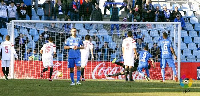 Crónica Getafe CF 2 Vs Sevilla FC 1