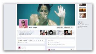 Timeline de Facebook para perfiles
