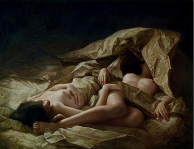 Desnudo Mujer Pintura