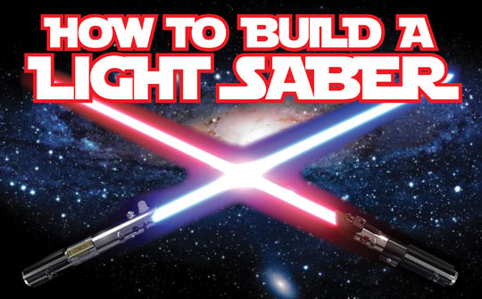 Cara-Cara Membuat Light Saber (Infographic)