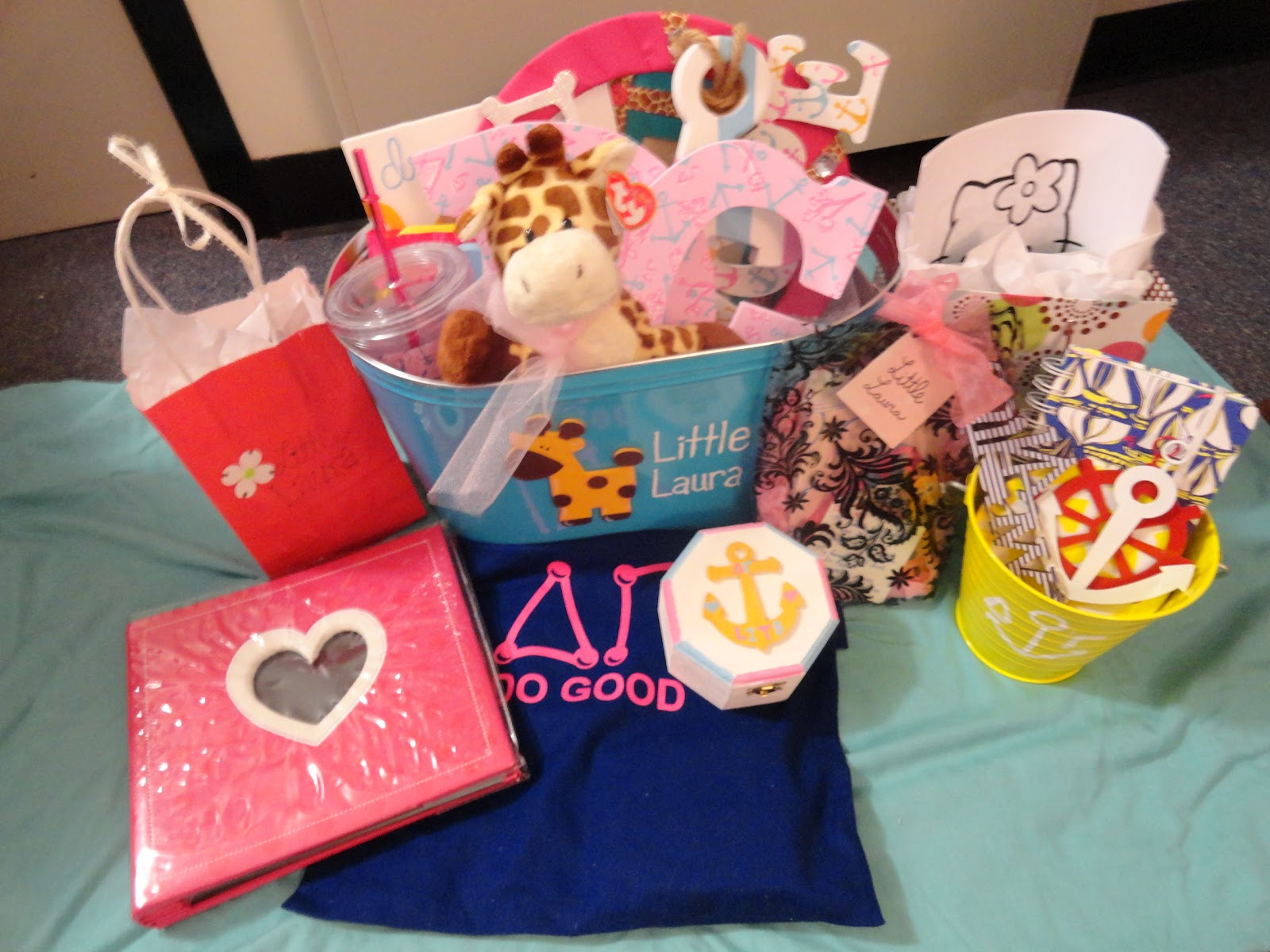 Grow and enjoy sorority little gifts for Sorority crafts for little