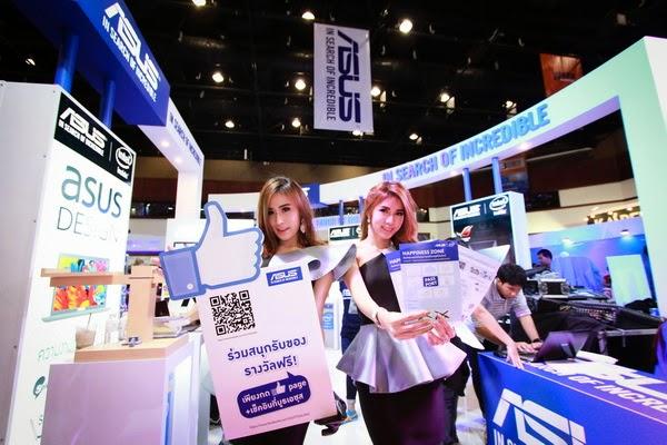เอซุส ชู ZenFone เพิ่มดีกรีคึกคักในงานคอมมาร์ท