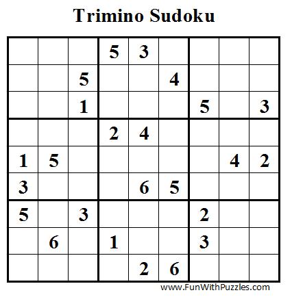 Trimino Sudoku (Daily Sudoku League #43)