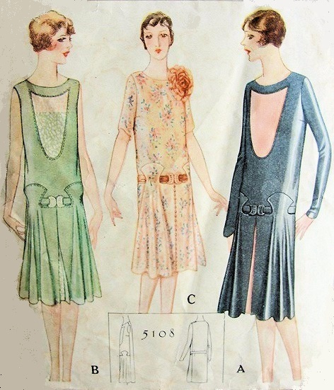 Displaying (18) Gallery Images For 20s Dress Patterns...