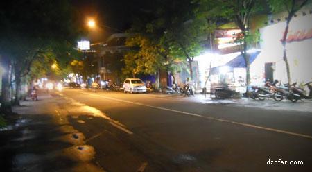 Kota Nganjuk Jalan A Yani Nganjuk sepi