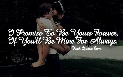Love Quotes | Love You Forever You Mine Always Couple Hug Kiss Hold Lift