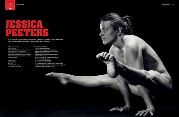 Mike Steegmans fotografia mulheres homens nus atletas pelados esportes Bélgica