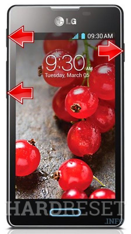 Hard Reset LG Optimus L5 II E460