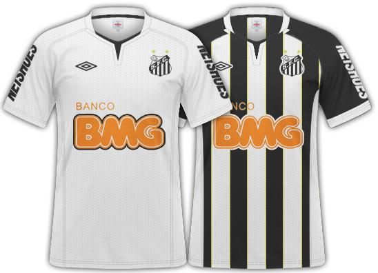 Mundial Futbol Shirts: Santos F.C. 2011-2012 (Campeonato Brasileiro)