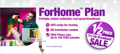 P1 Broadband Half Price Sale