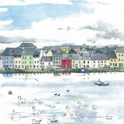 Urban Sketching In Galway Ireland With Roisin Cure Shari Blaukopf And Marc Taro Holmes Sold Out