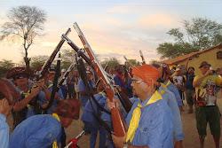apresentação na Fazenda Araripe, em Exu