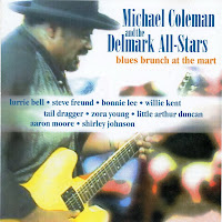 Michael Coleman and The Delmark All Stars - Blues Brunch At The Mart
