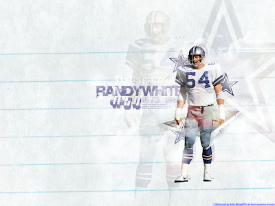 White Randy wallpaper, Dallas Cowboys wallpaper
