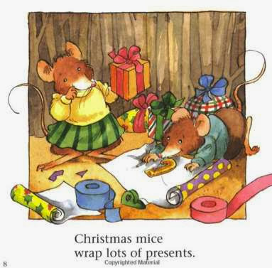 sample page from Christmas Mice!   by Bethany Roberts