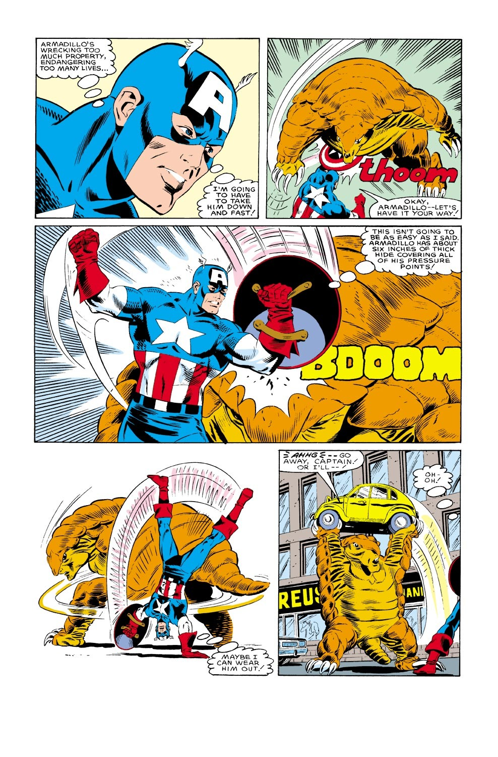 Captain America (1968) Issue #316 #244 - English 19