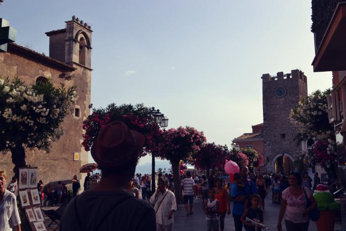 travel italy taormina sicily