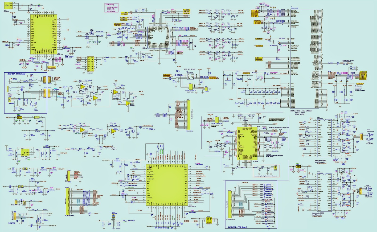 Jbl Sb400 Powered Soundbar Schematic Circuit Diagram Electro Wiring Click On The Schematics To Magnify