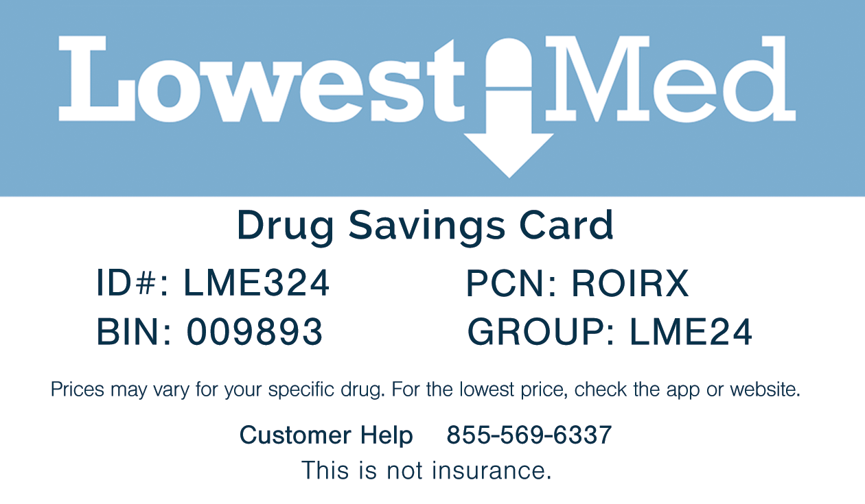 we suggest printing this card off or saving it to your smartphone be sure to present the card to your pharmacist next time you fill a prescription - Best Prescription Discount Card