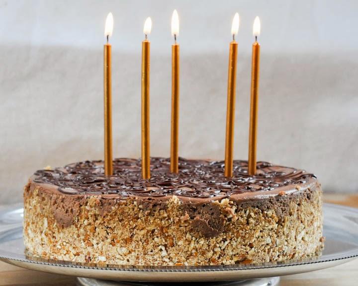 Beki Cooks Cake Blog Guinness Chocolate Chunk Cheesecake with