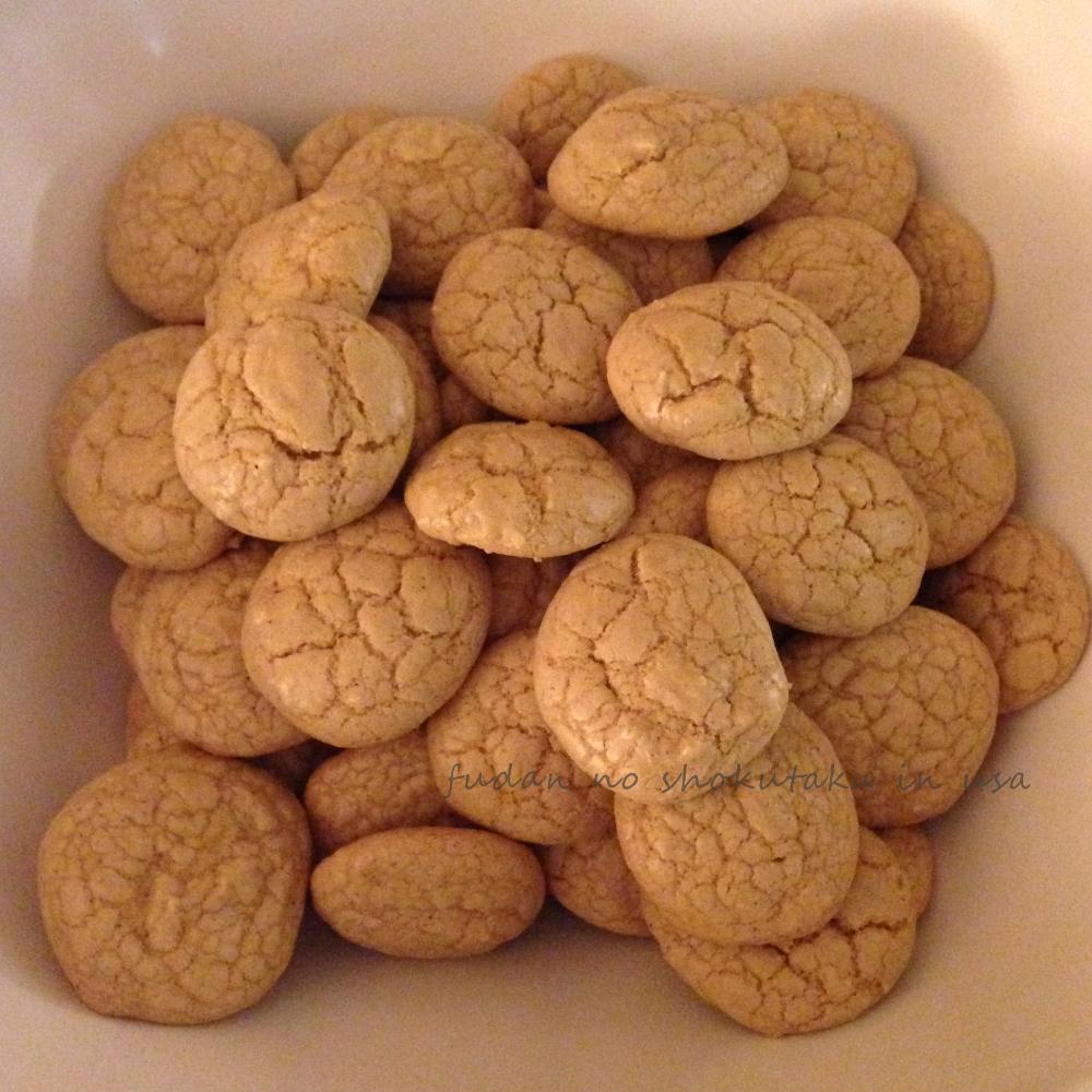 クリスマスキャロルパーティのときに作ったグルテンフリージンジャーブレッドクッキー。