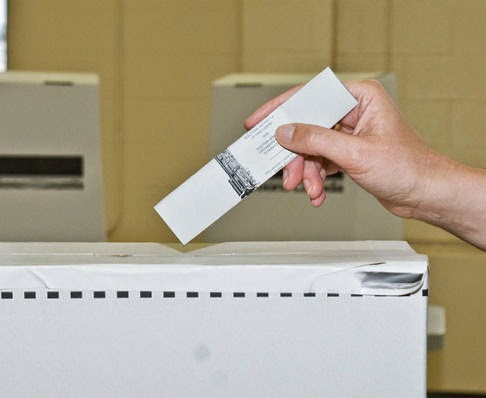 Photo courtesy of Elections Canada