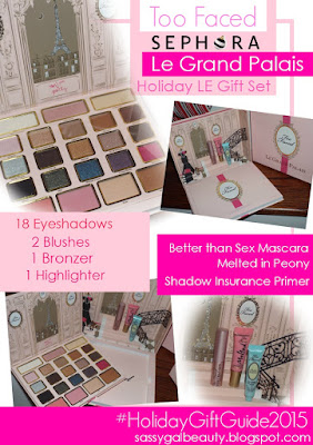 Too Faced | La Grand Palais - Holiday Collection 2015