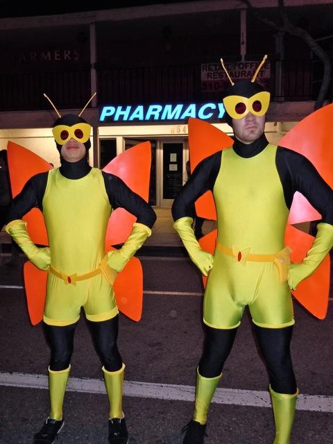 Venture Bros Monarch henchmen costumes