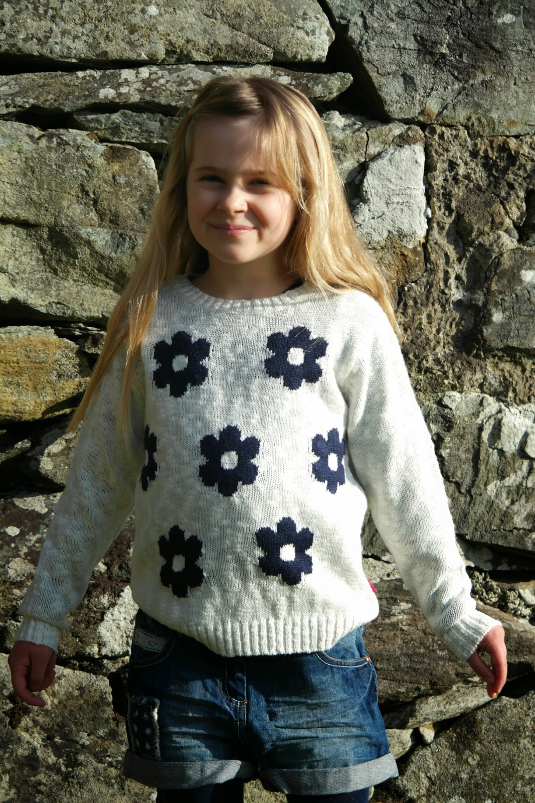 Nutmeg Morrisons Flower jumper