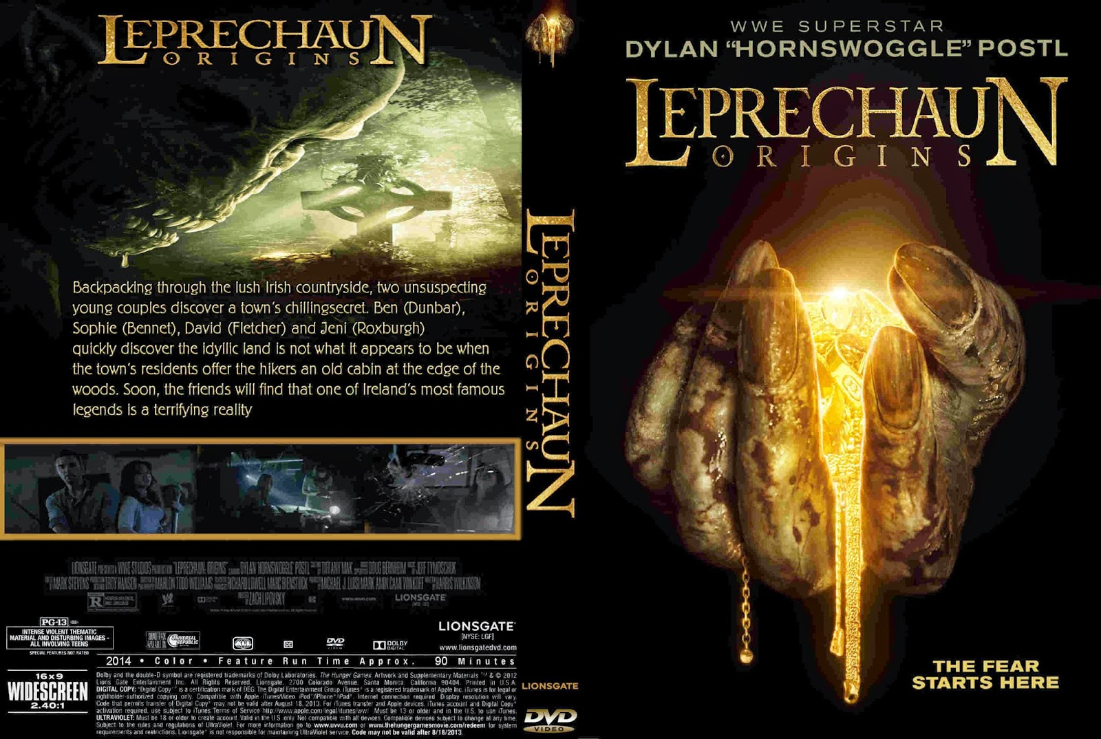 Download O Duende As Origens BDRip XviD Dual Áudio Leprechaun 2BOrigins 2B 2014  2B  2BCover 2BDVD 2BMovie