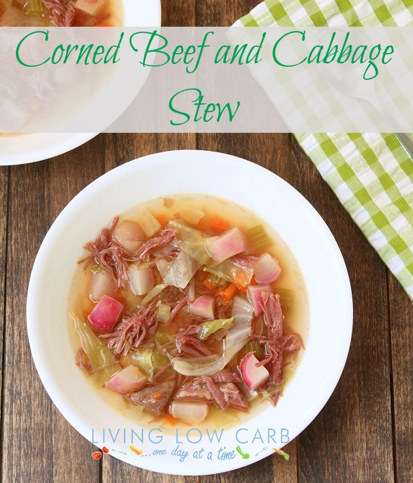 SPLENDID LOW-CARBING BY JENNIFER ELOFF: Corned Beef and Cabbage Stew