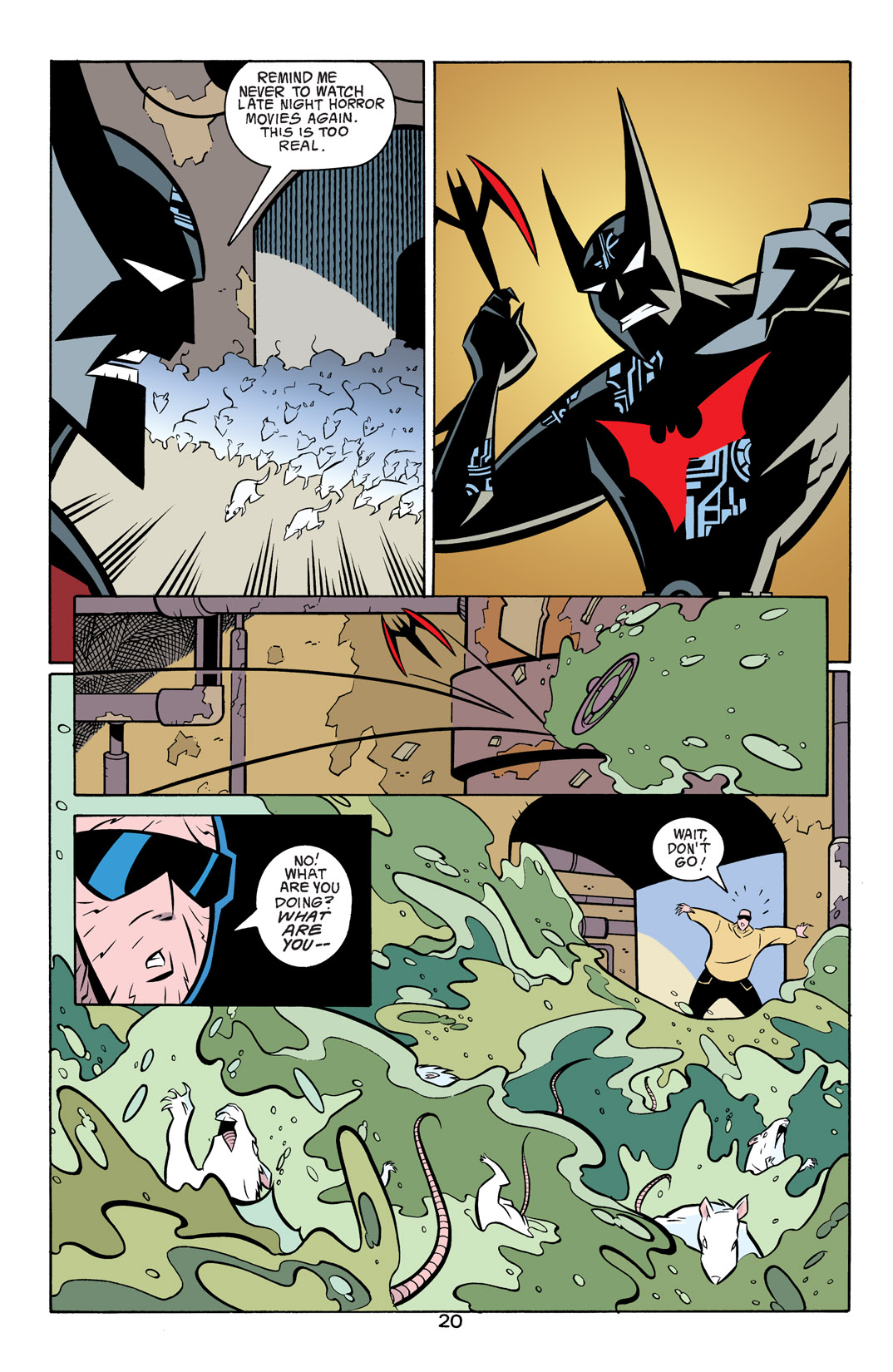 Batman Beyond [II] Issue #17 #17 - English 21