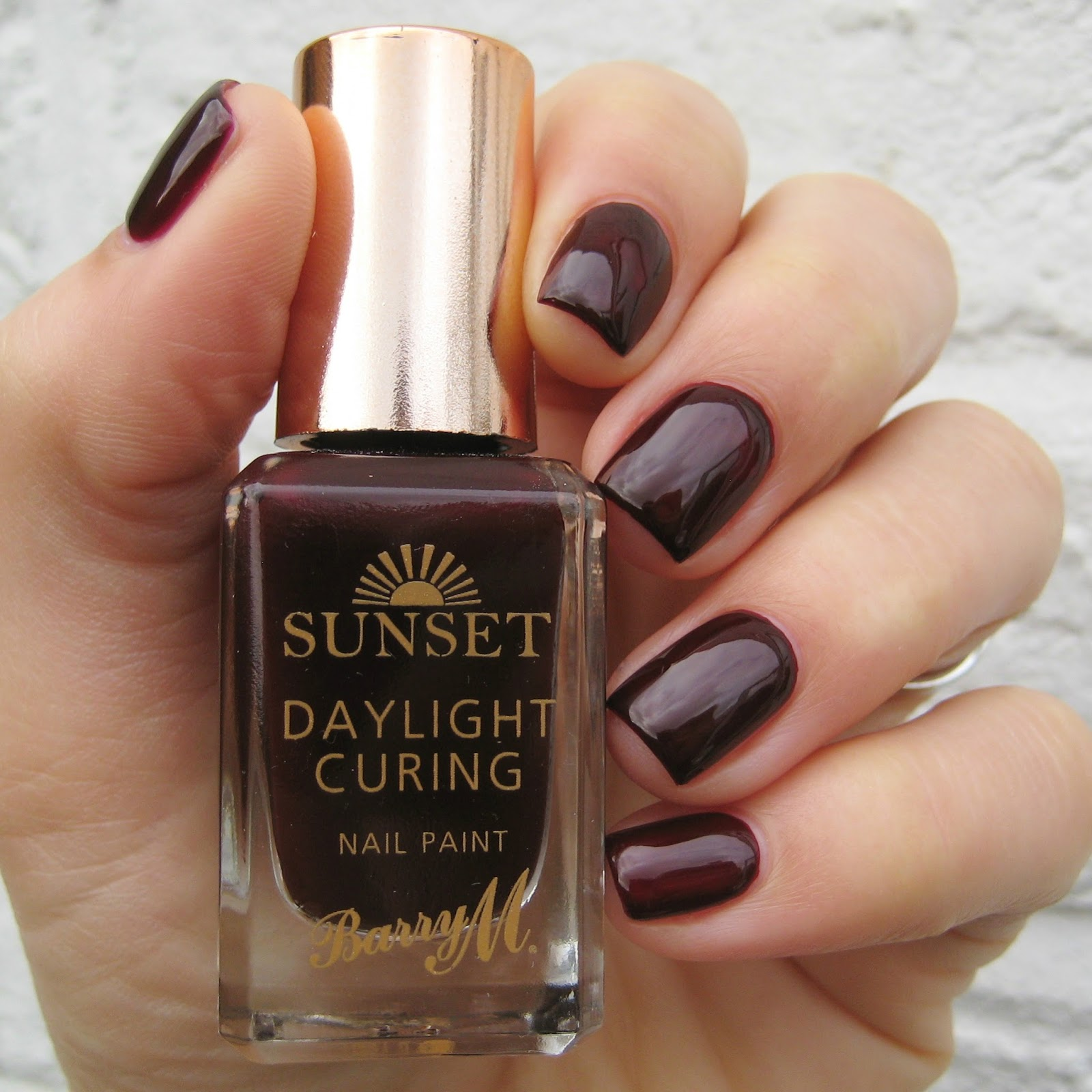 Dahlia Nails: Barry M AW Sunset Swatches