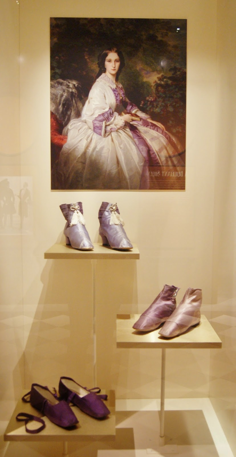 Fashion Victims: The Pleasures and Perils of Dress in the 19th Century Exhibit at Bata Shoe Museum in Toronto, Culture, The Purple Scarf, Melanie.Ps, Dress, Ontario, Canada, Clothing, History, Disease, Factory, Sewing, Mauve Measles, Toxic