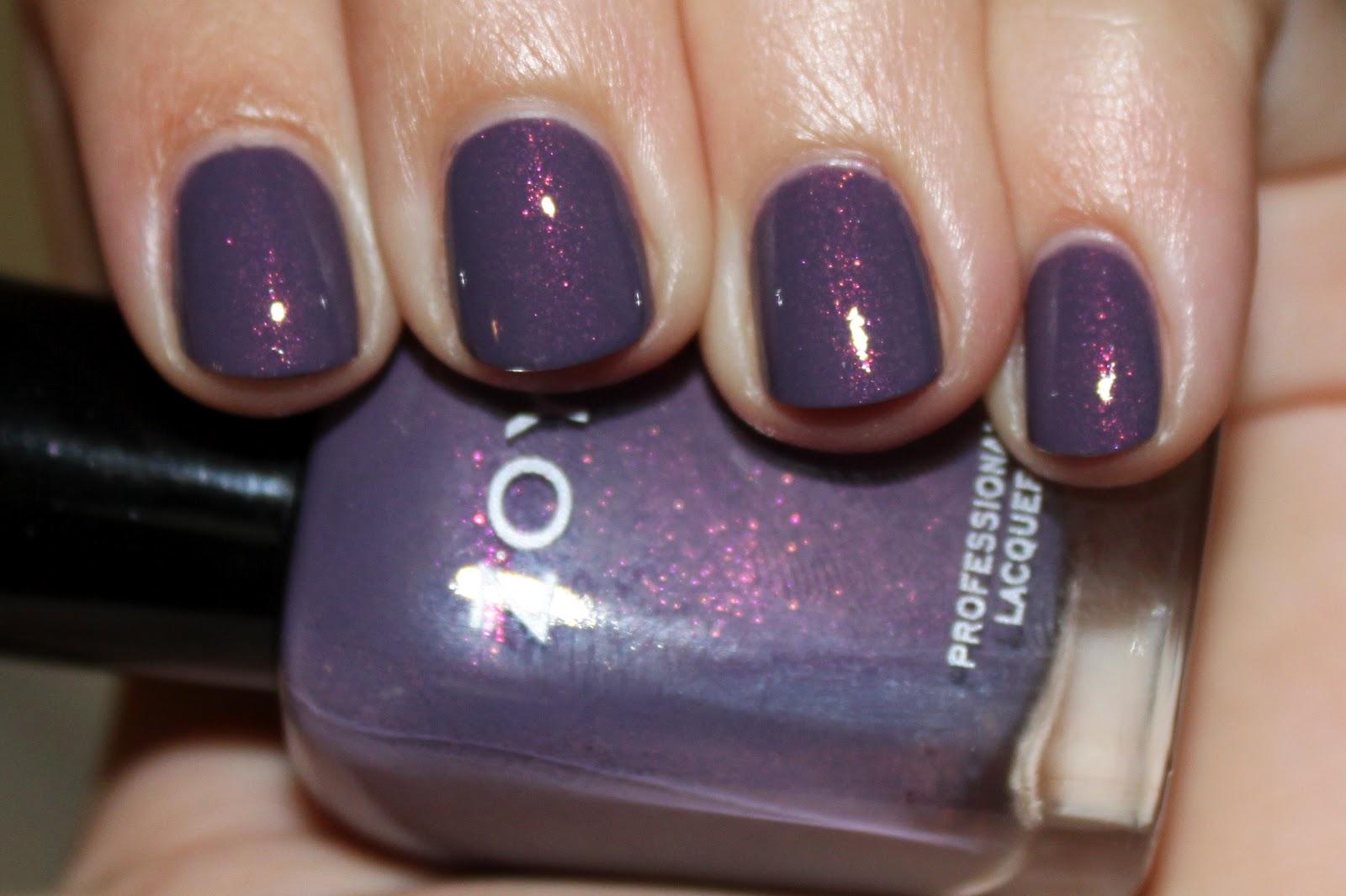 Nubbin Nails: Zoya Lotus + BL No More Waity Katie