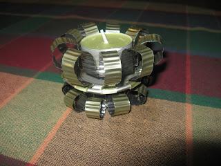 Tin can Tea light holder  IMG_3224