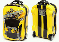 Transformer BumbleBee Trolley Luggage