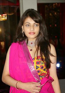 Sneha Ullal in lovely Pink Chania Choli Ultimate Beauty at TSR Granbdson Rajiv Wedding Reception