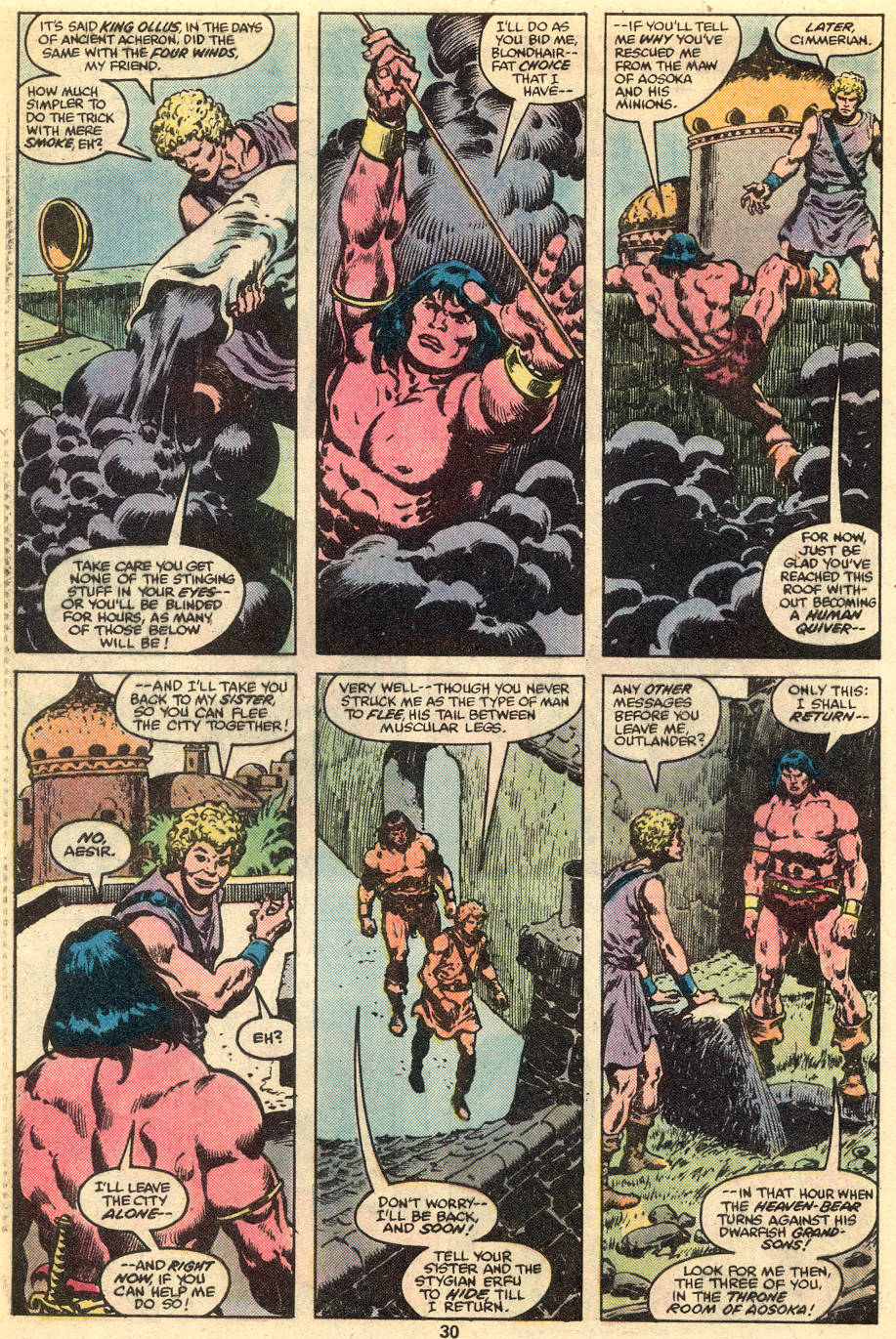 Conan the Barbarian (1970) Issue #111 #123 - English 17